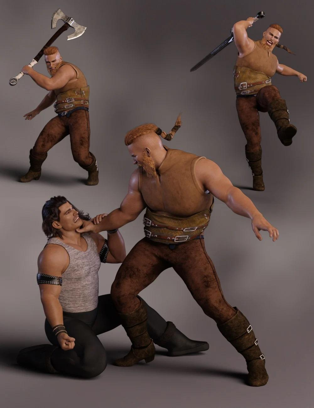 Pillage for Kjaer 8 and Genesis 8 Male