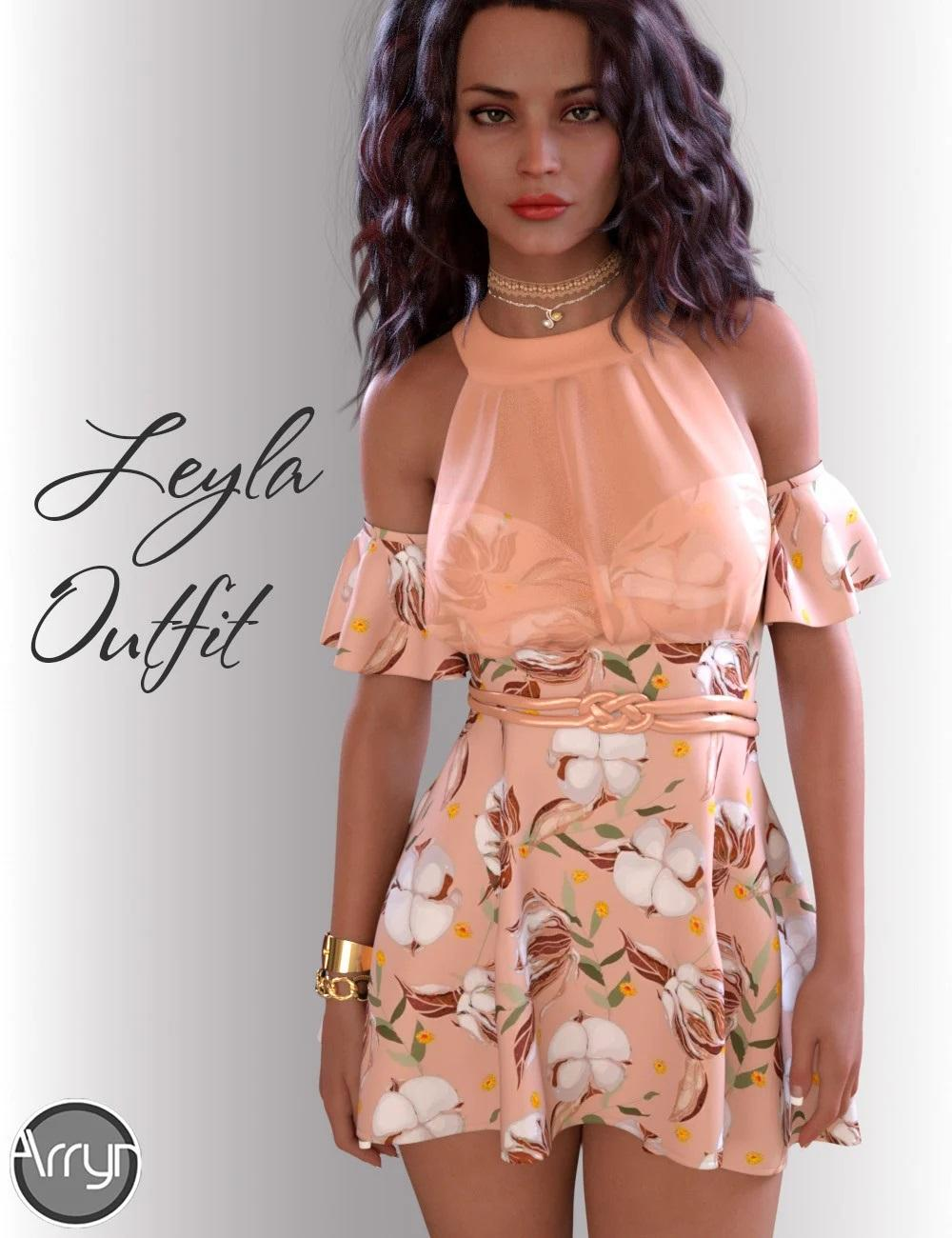 dForce Leyla Outfit for Genesis 8 Females
