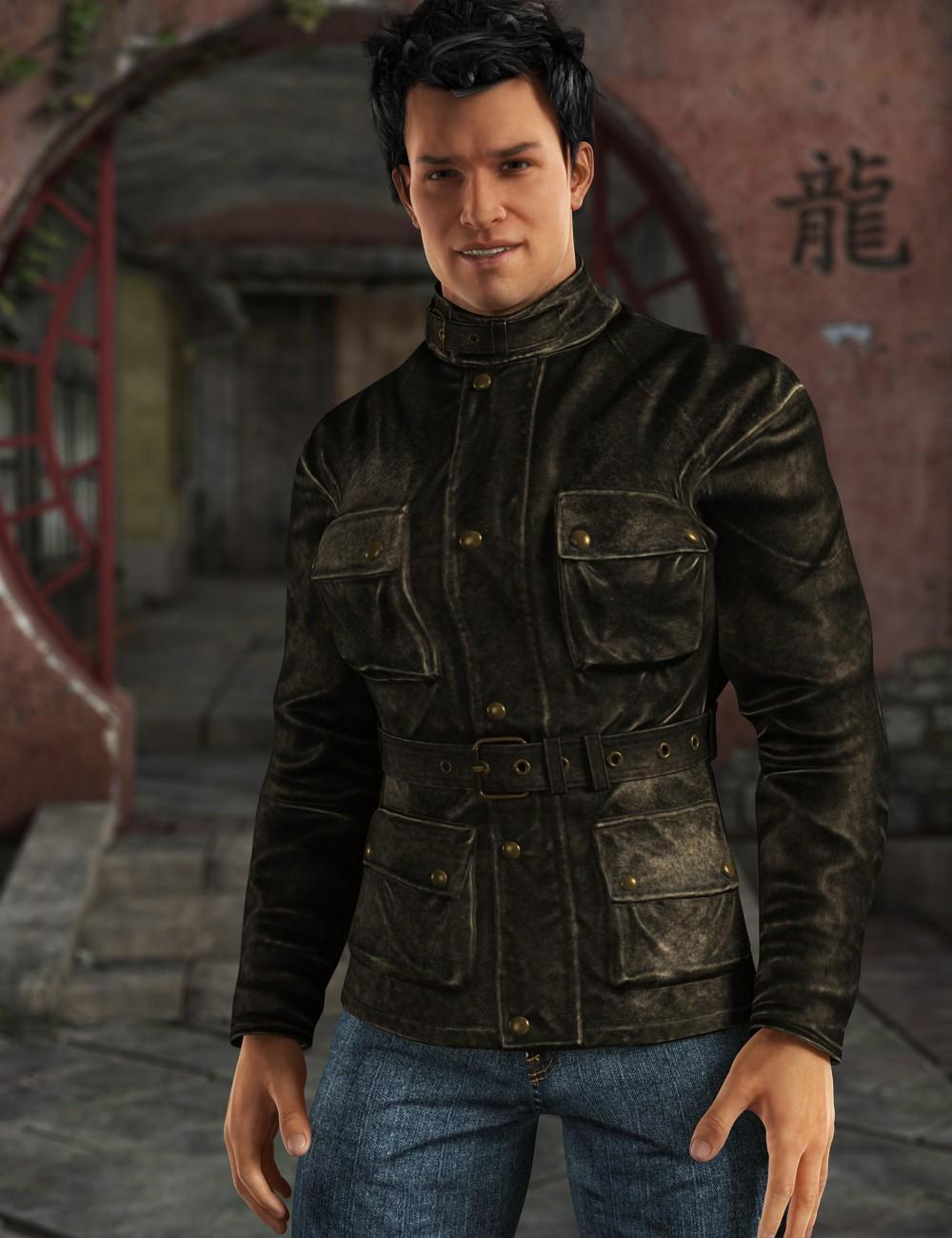 Adventure's Jacket for Genesis 2 Male(s)