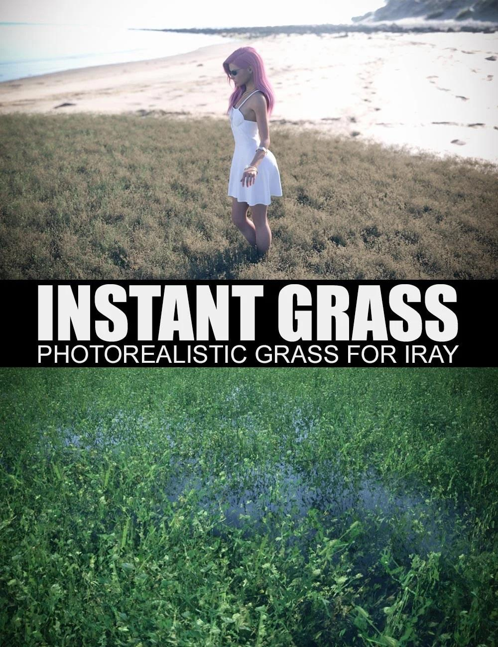 Instant Grass - Photorealistic
