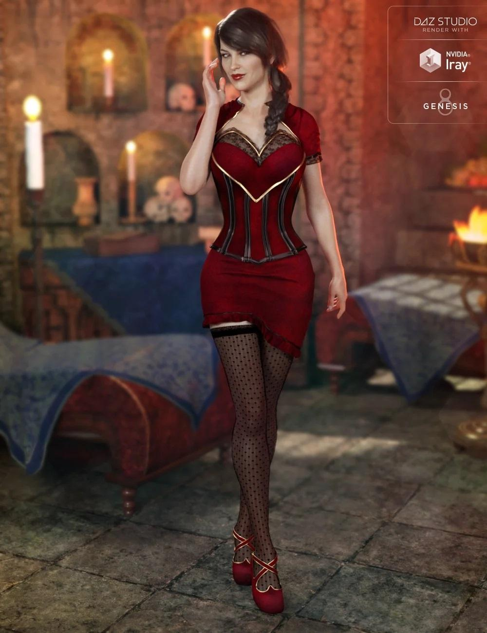 Thessea Outfit for Genesis 8 Female(s)