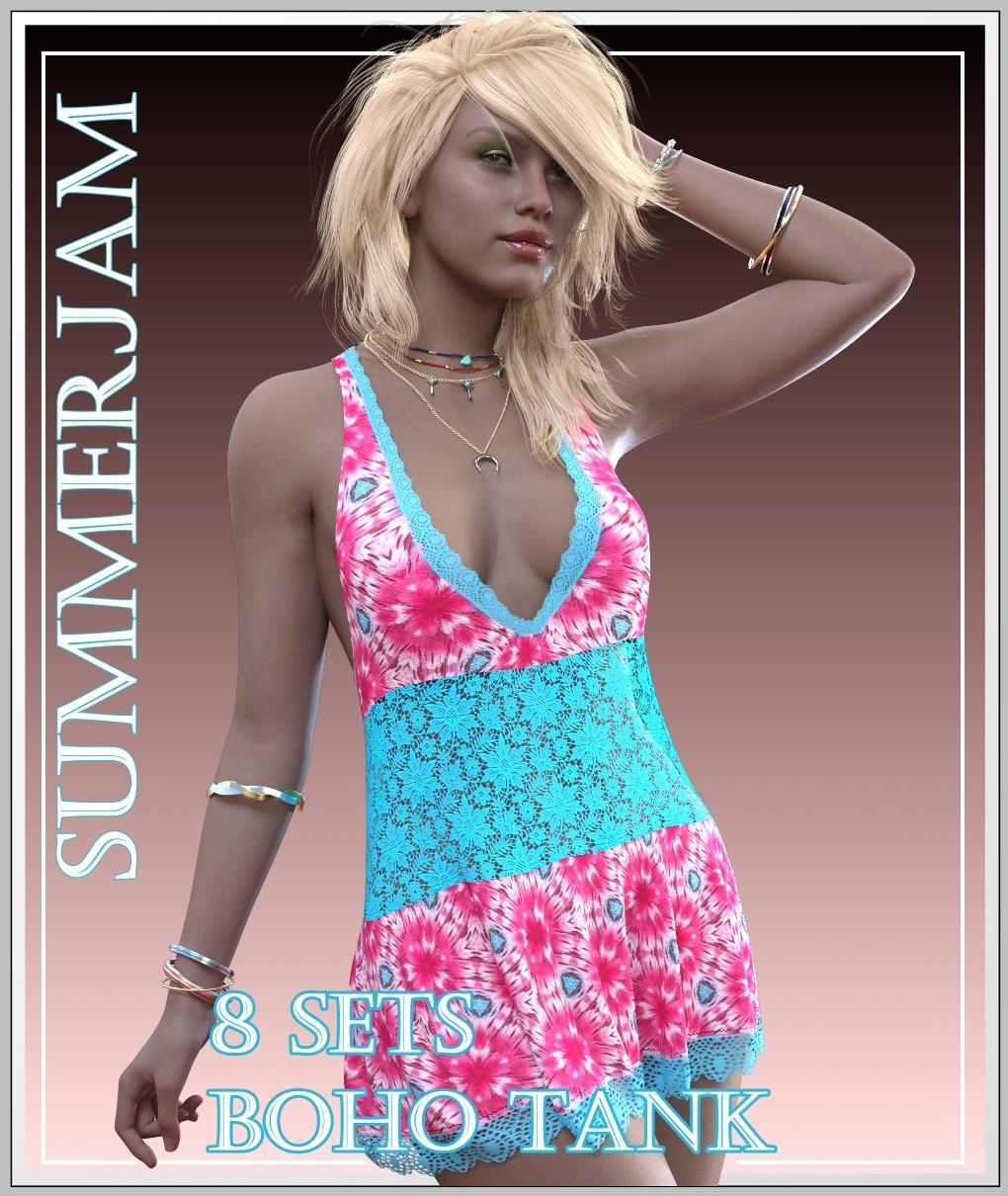 SummerJam - Boho Tank
