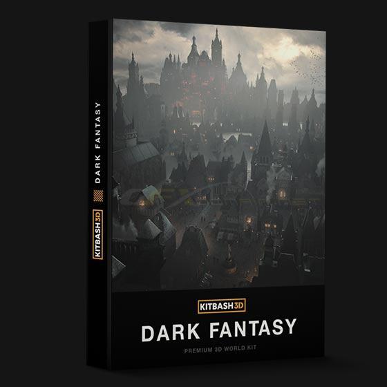 KitBash3D: Dark Fantasy