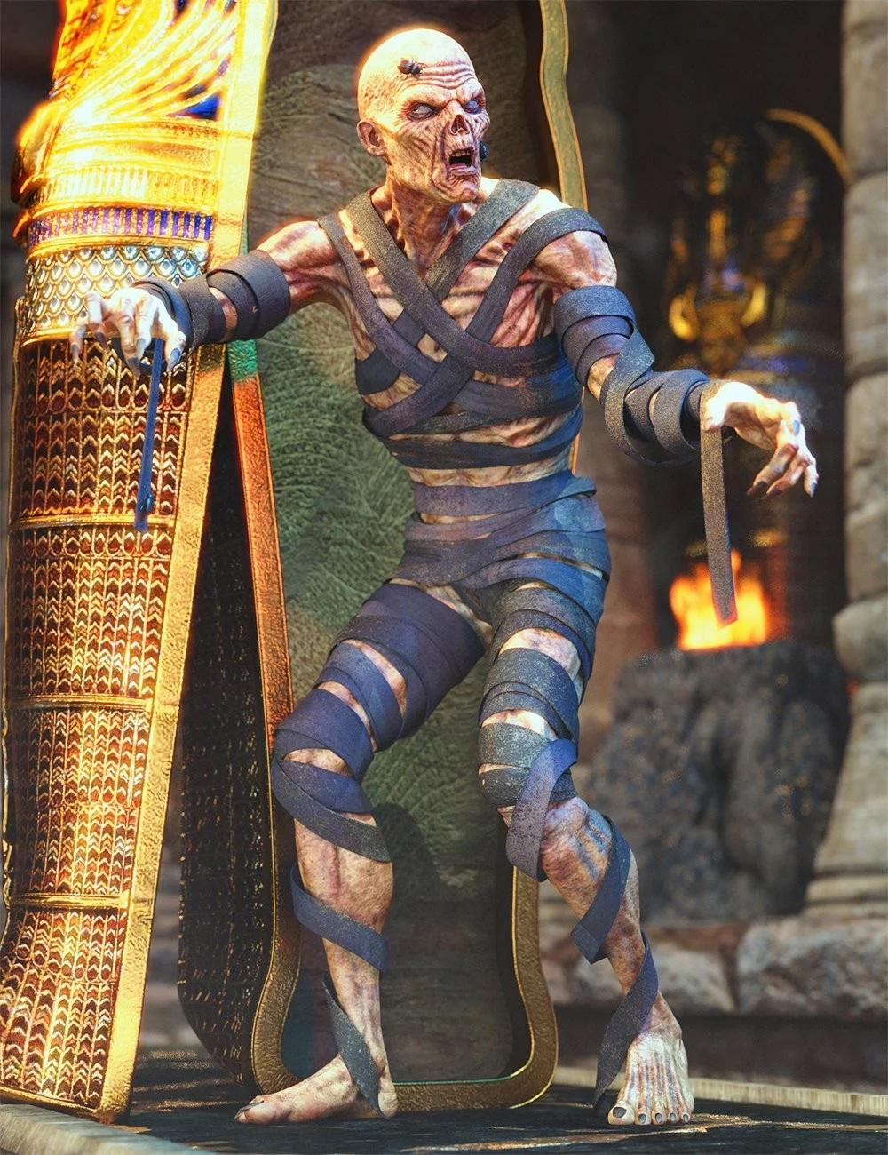 dForce Mummified Outfit for Genesis 8 Male(s)