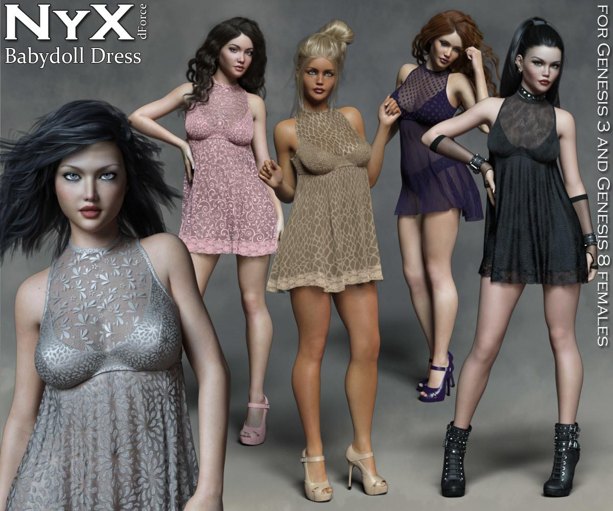 NyX dForce Babydoll Dress