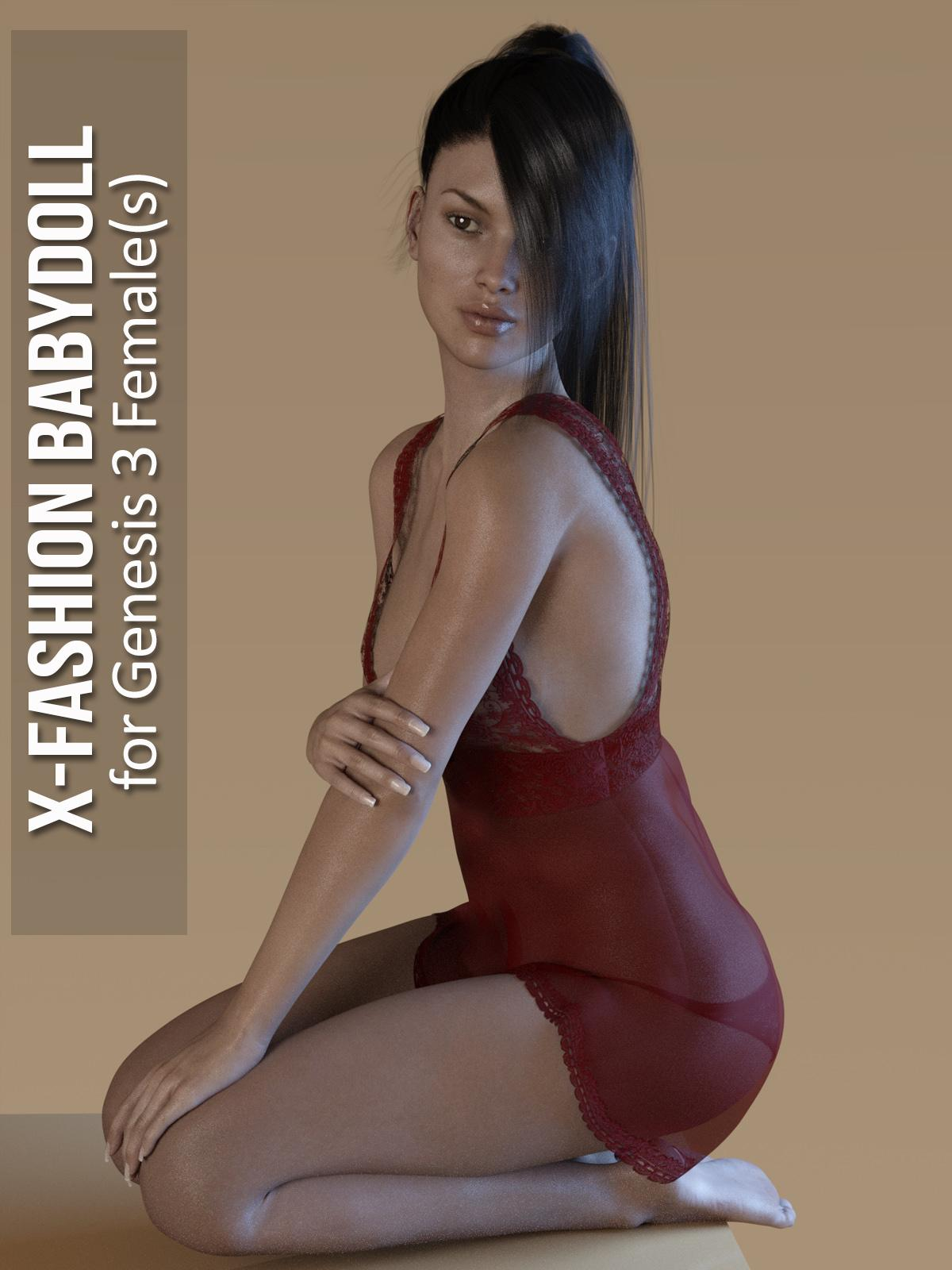 Fashion Babydoll for Genesis 3