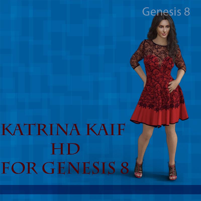Indian Actress Katrina Kaif HD For Genesis 8