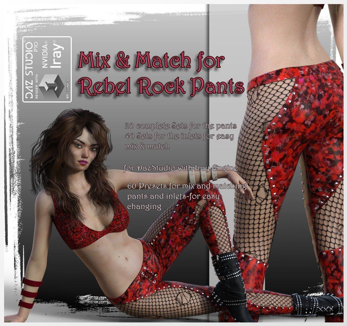 Mix & Match Rebel-Rock-Pants