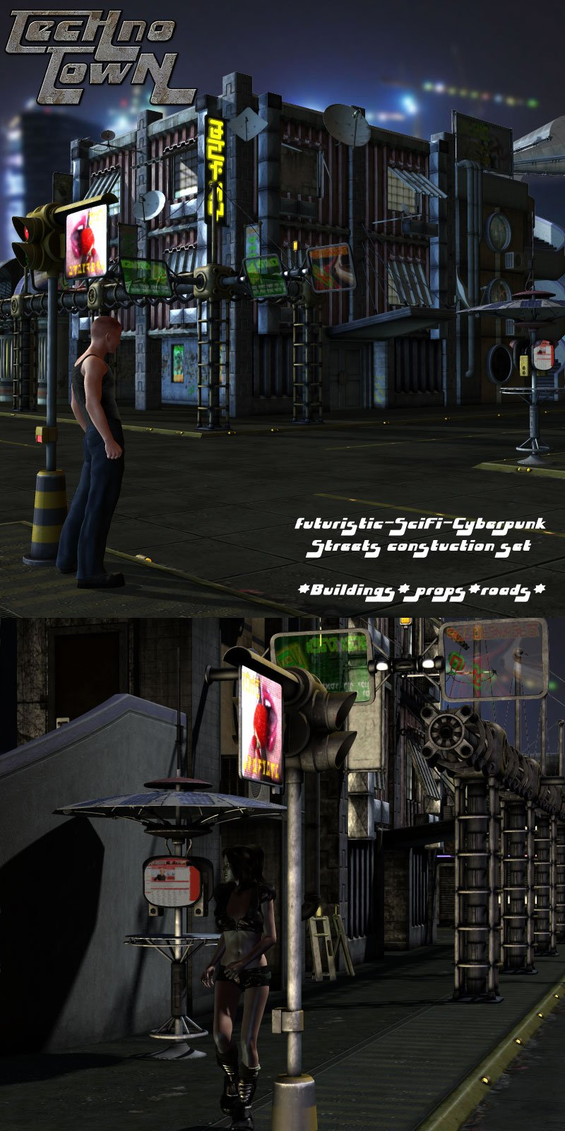 Techno Town Construction Set Vol 1