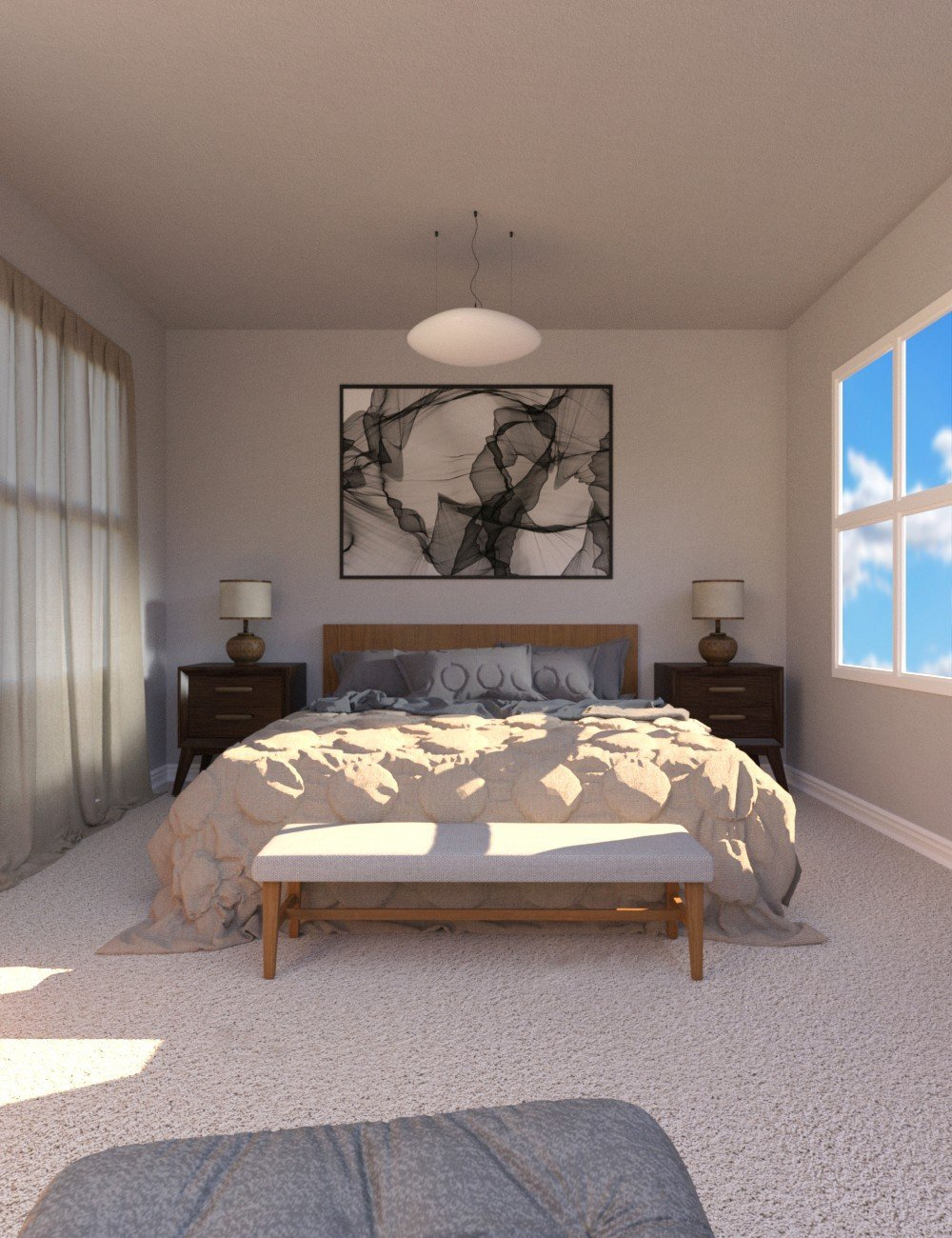 Silver Willows Bedroom