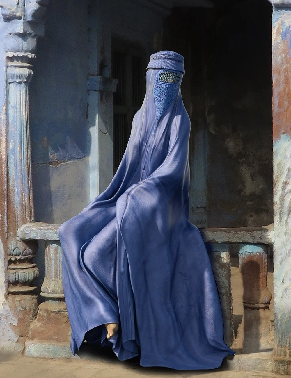 dForce Afghan Burqa for Genesis 8 Female(s)