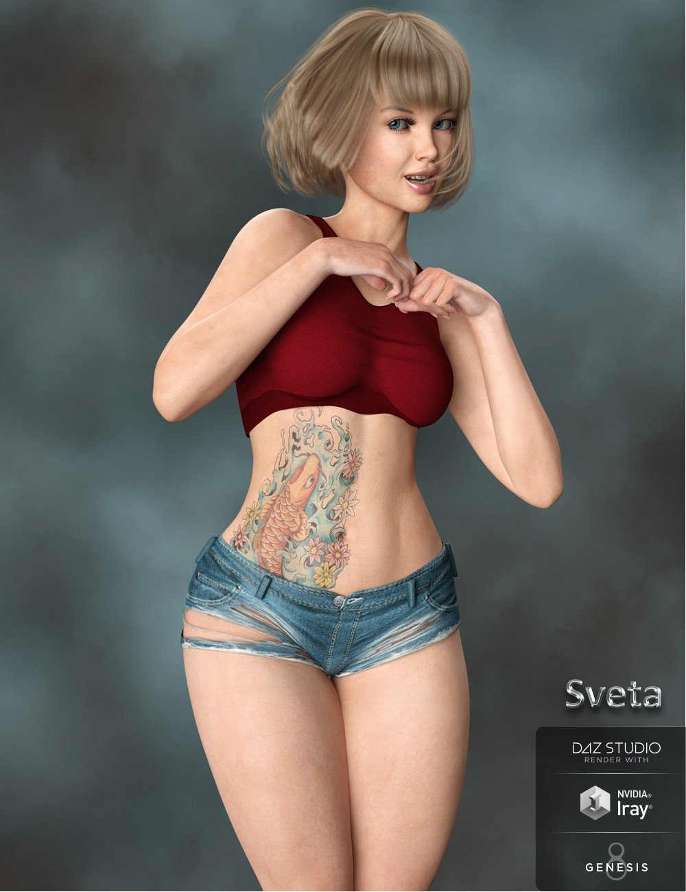 Sveta for Genesis 8 Female