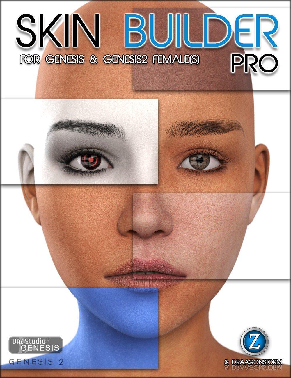 Skin Builder Pro for Genesis and Genesis 2 Female(s)