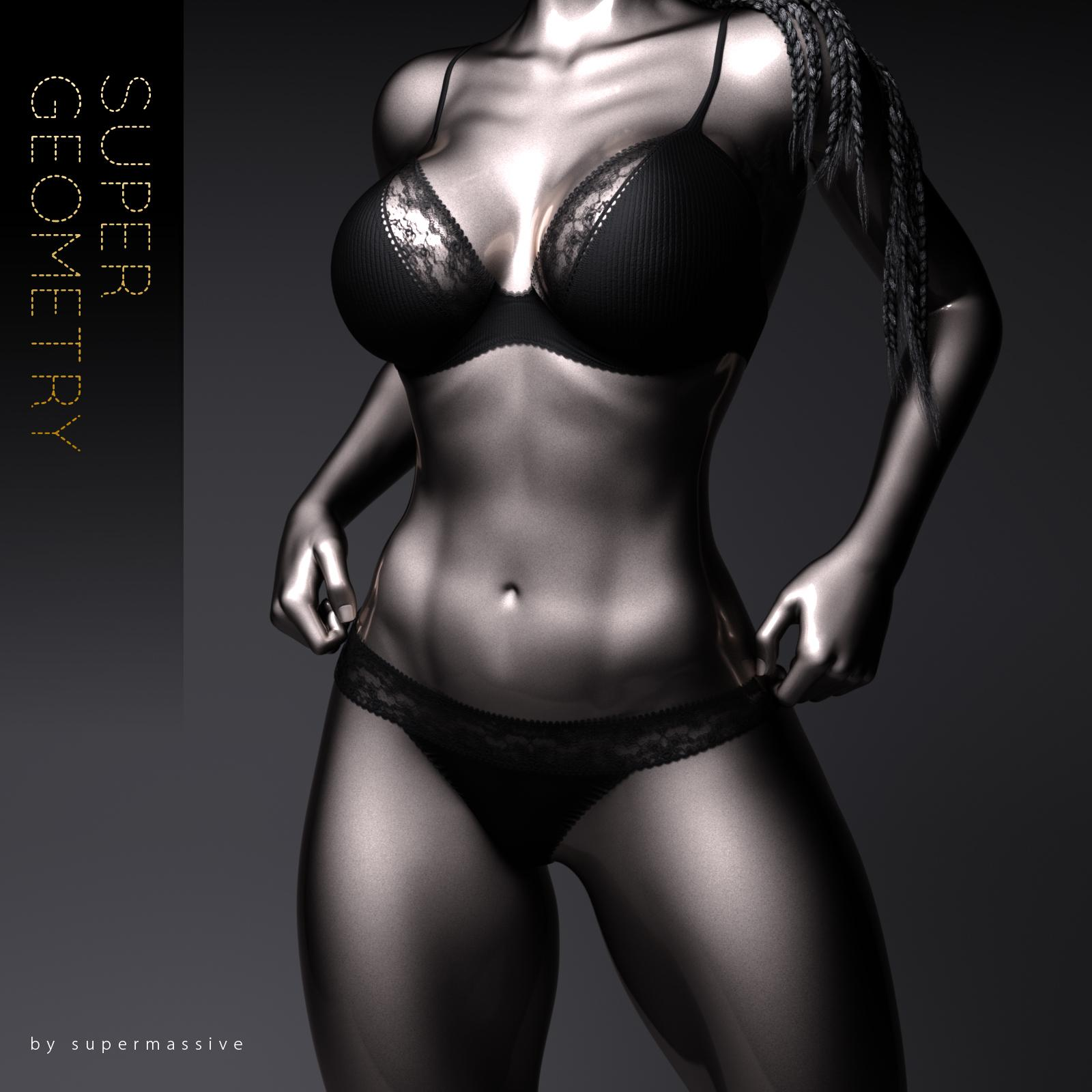 Super Geometry - Full Body Morphs G8F