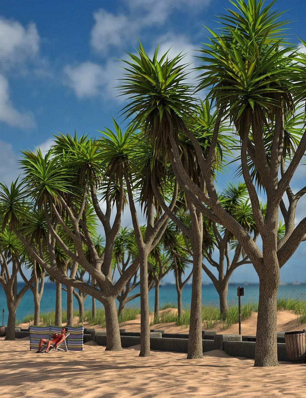 Predatron Cabbage Palm Trees
