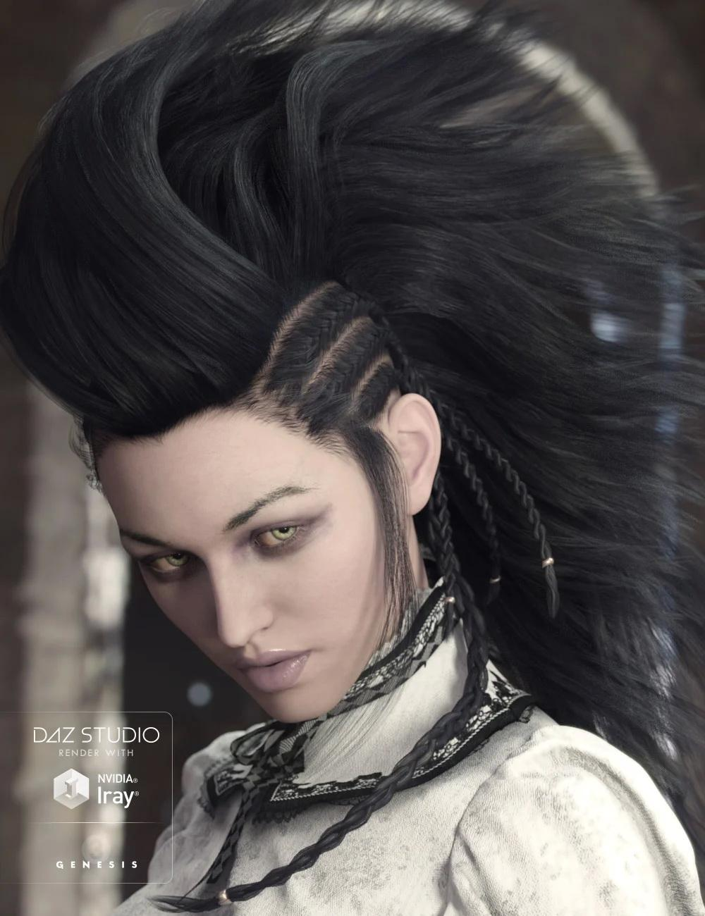 Nox Hair for Genesis 3 Male(s) & Female(s)