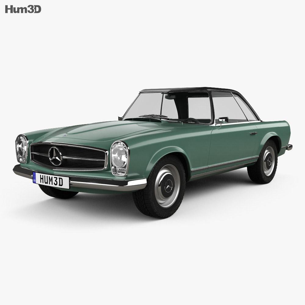 Mercedes-Benz SL-class (W113) 1963 3D model