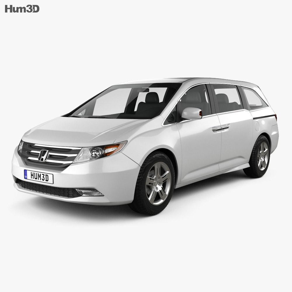 Honda Odyssey 2011 3D model