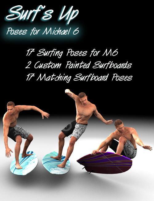 Surf's Up Poses for Michael 6
