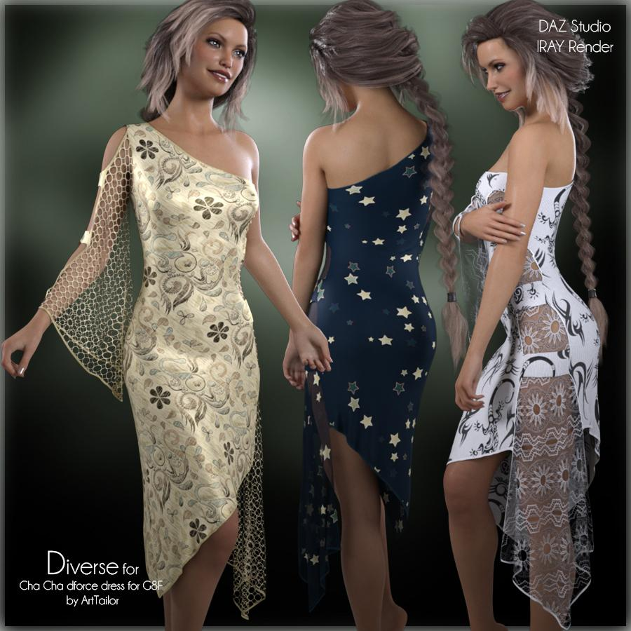 Diverse for Cha Cha dforce dress