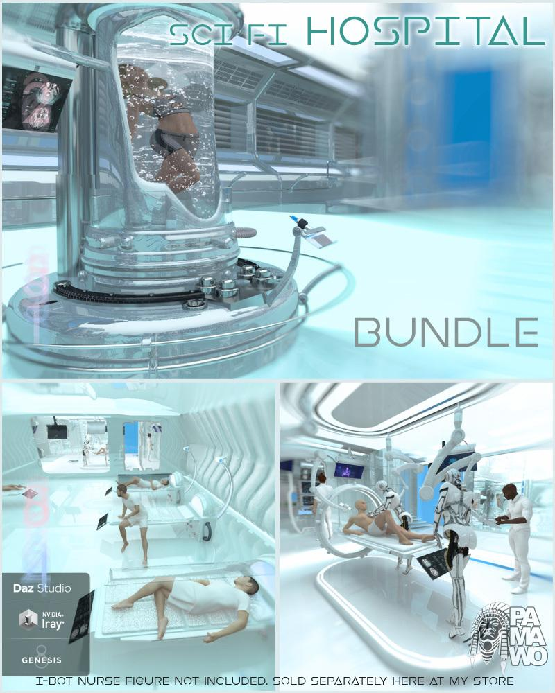 Sci Fi Hospital Bundle for DS