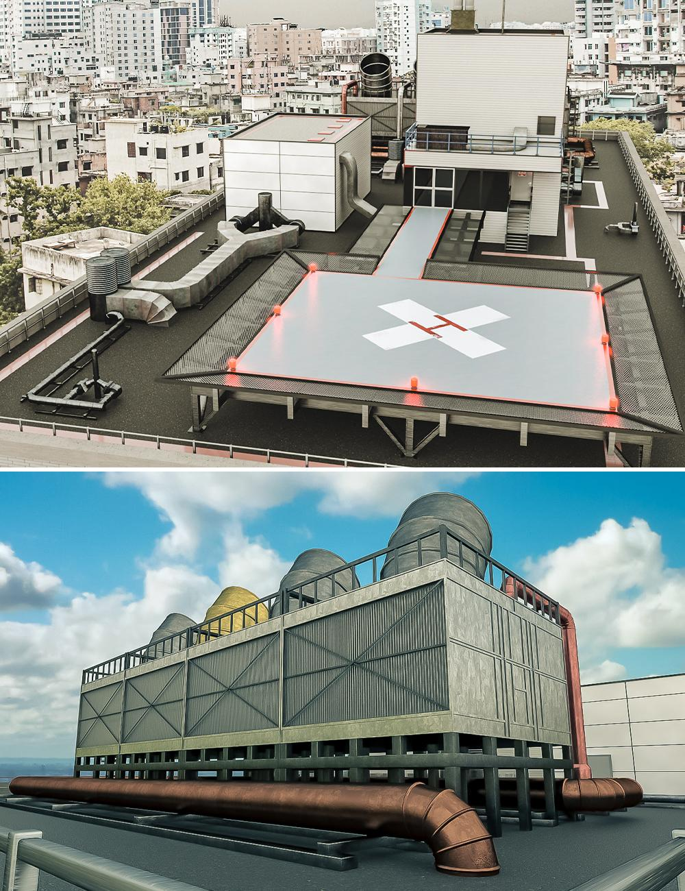 Hospital Helipad