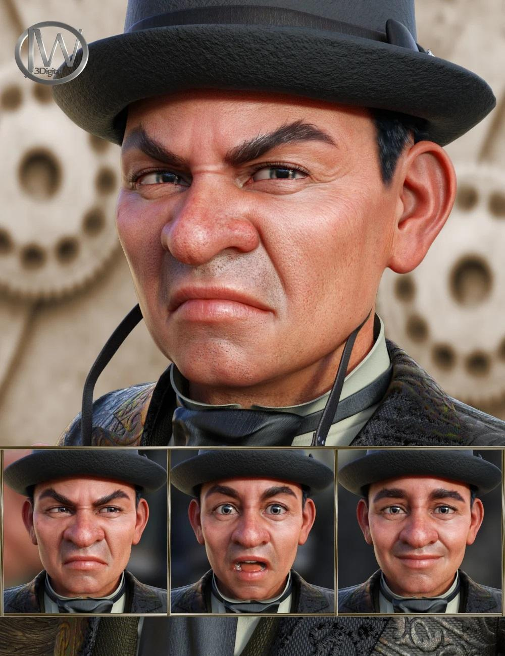 Steampunk - Expressions for
