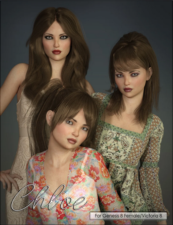 VYK Chloe for Genesis 8 Female and Victoria 8
