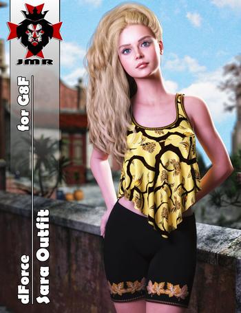 JMR dForce Sara Outfit for G8F