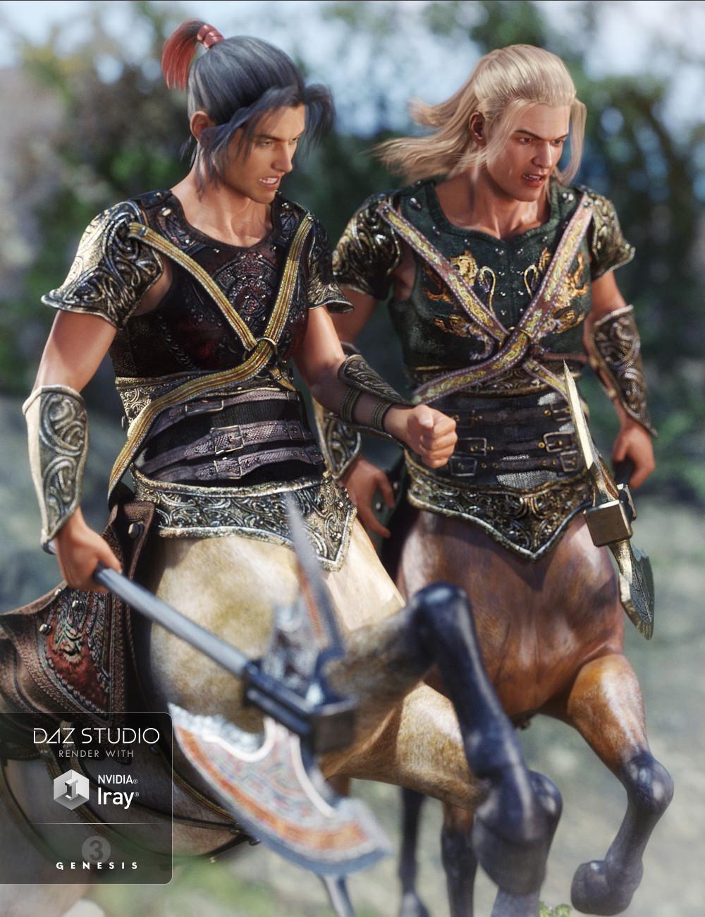 Cypruss Centaur Armor Textures