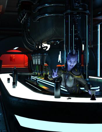 Sci-Fi Bar
