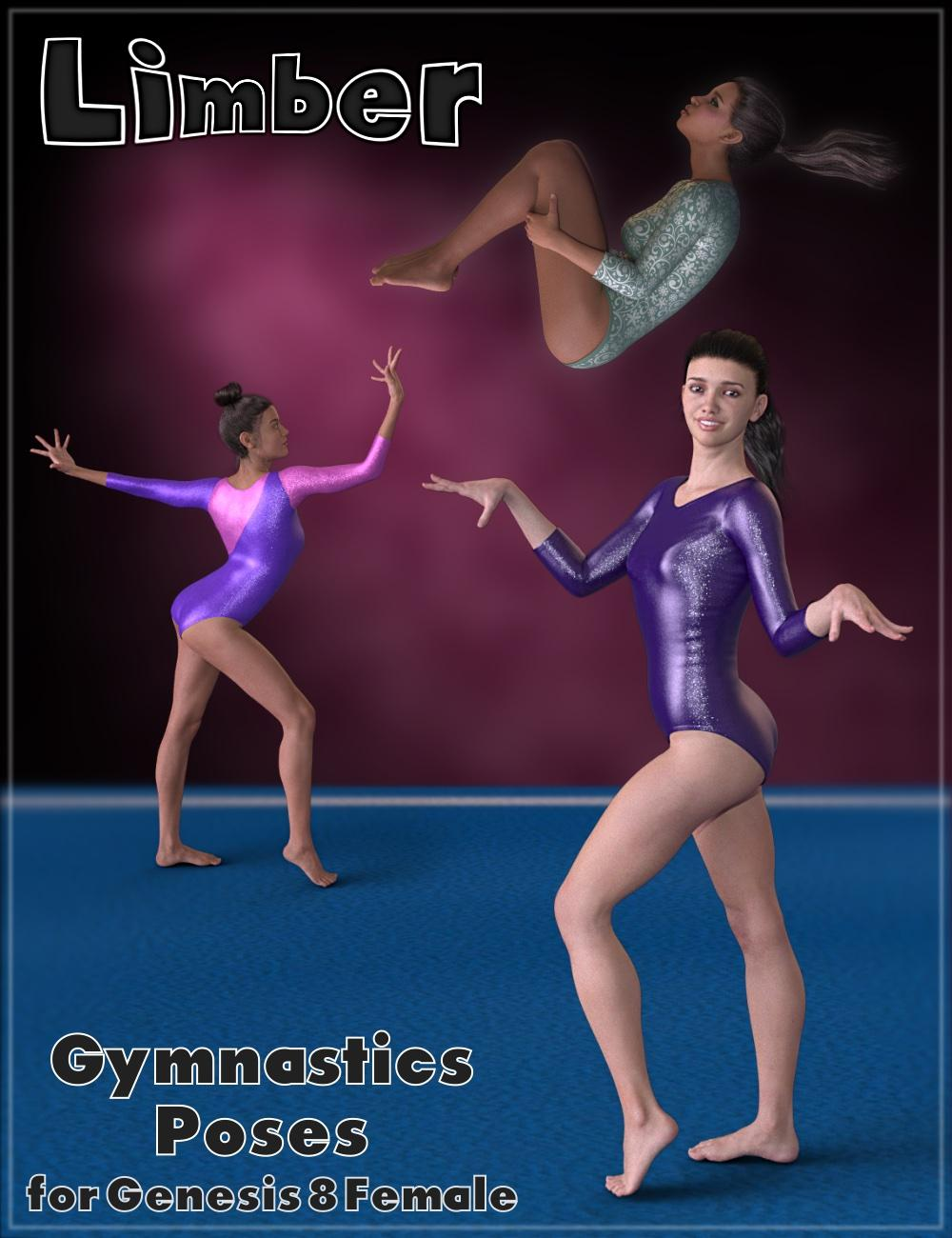 Limber - Gymnastic Poses for Genesis 8 Female