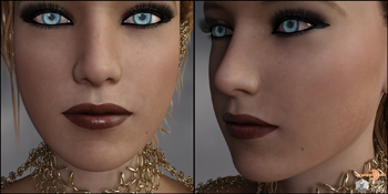 Cheeks,Jaw and Chin Morphs for G8 Vol 1