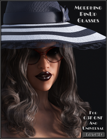 Morphing PinUp Glasses for G3F/G8F and Universal Prop