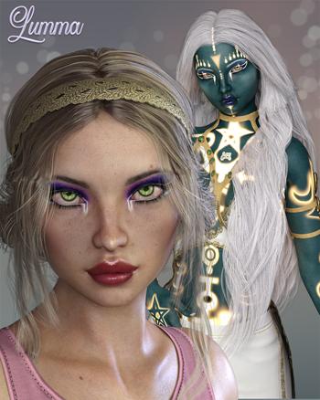 Lumma for Genesis 8 Female
