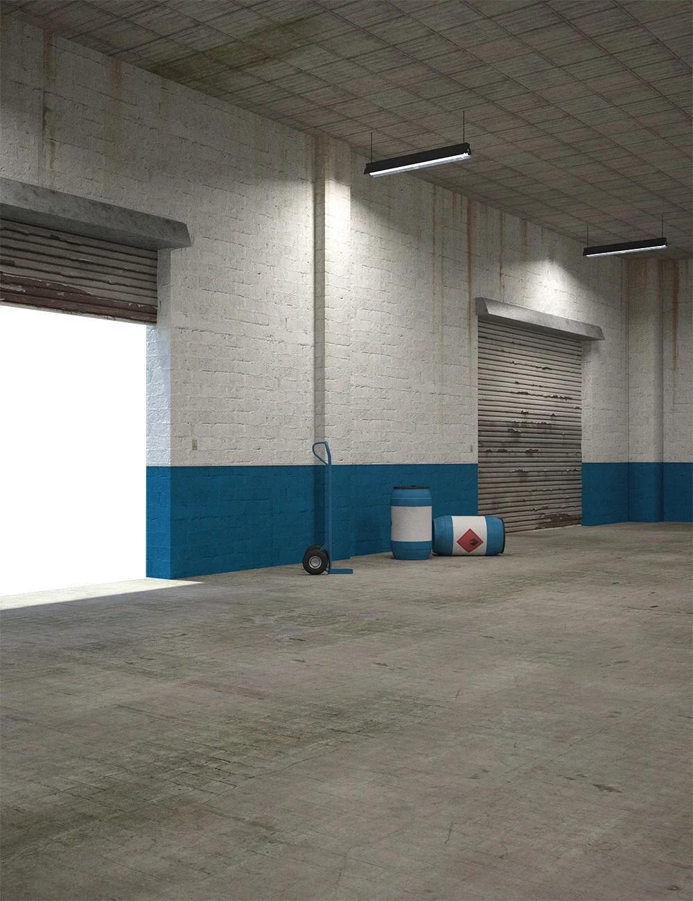 Empty Industrial Interior