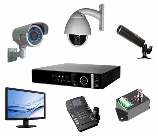 Технические средства для обеспечения видеонаблюдения