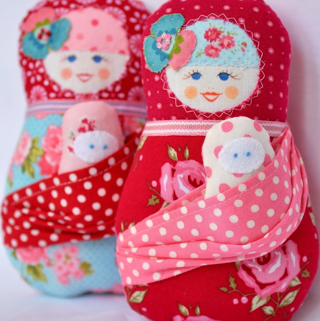 russia soft dolls pattern