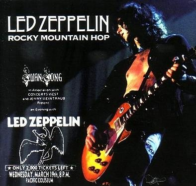 Led Zeppelin - Rocky Mountain Hop  (1975)