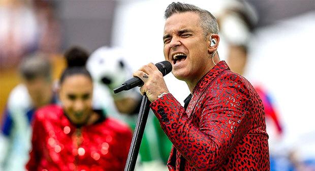 День с Легендой на Эльдорадио: Robbie Williams