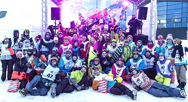 В Северной столице прошел первый этап акции ENERGY in the MOUNTAIN - Новости радио OnAir.ru