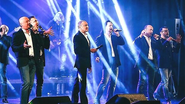 Праздничные концерты «Хора Турецкого» в Кремле проходят при поддержке «Авторадио» - Новости радио OnAir.ru