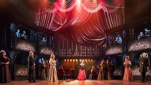 Радио Romantika продолжает в новом году сотрудничество с мюзиклом «Анна Каренина»