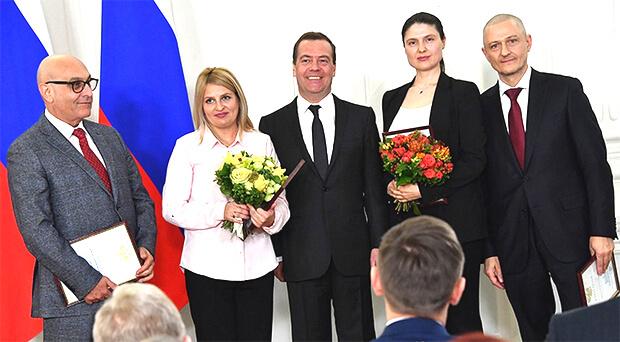 Сотрудники «Комсомолки» получили премию правительства РФ в области СМИ - Новости радио OnAir.ru