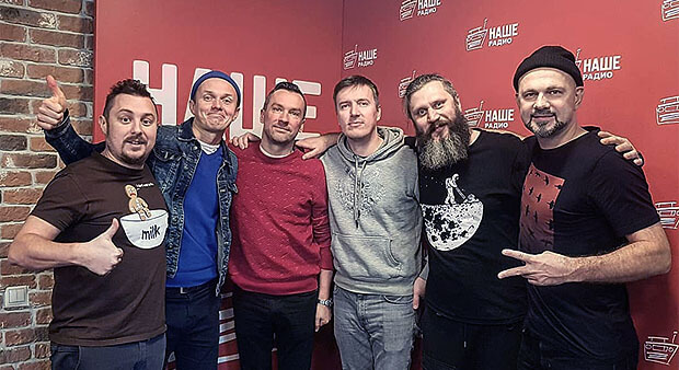 Группа BrainStorm в гостях у «Подъёмников» на НАШЕм Радио - Новости радио OnAir.ru