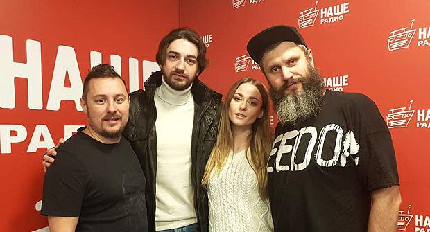 Тигран Саакян и Ингрид Олеринская побывали в гостях у «Подъёмников» - Новости радио OnAir.ru