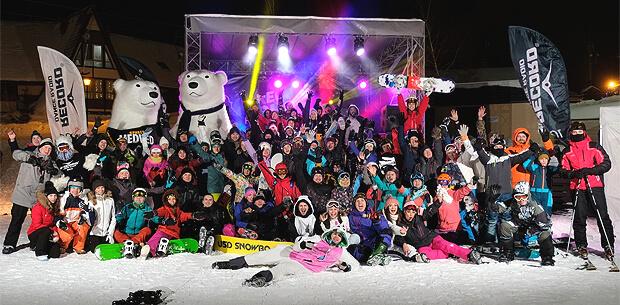 Стартовала серия вечеринок Record Snow Party 2019 в Нижнем Новгороде - Новости радио OnAir.ru