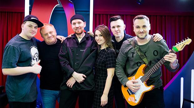Андрей Звонкий дал живой концерт на «Русском Радио» - Новости радио OnAir.ru
