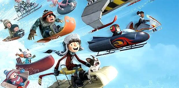 Детское радио рекомендует анимационный фильм «Снежные гонки» - Новости радио OnAir.ru