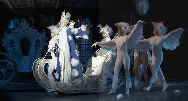 Детское радио приглашает в Театр им. Н.И. Сац на оперу-сказку «Снежная королева»